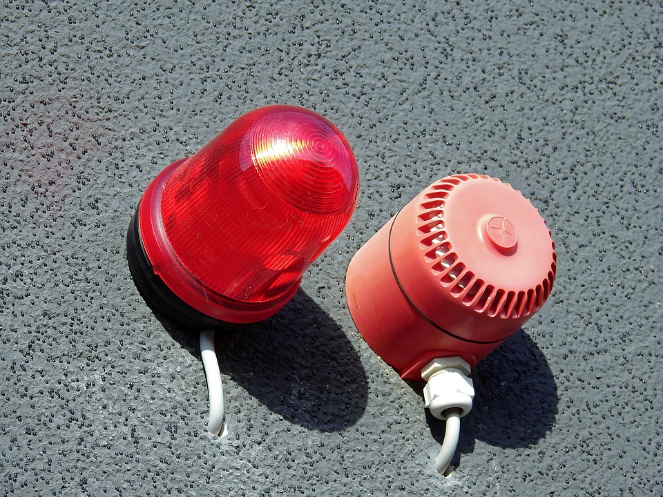 vehicle alarm and siren
